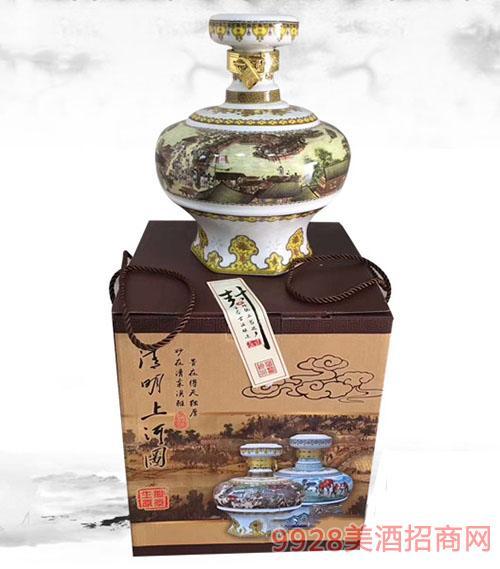 金淳景德镇陶瓷·清明上河园酒