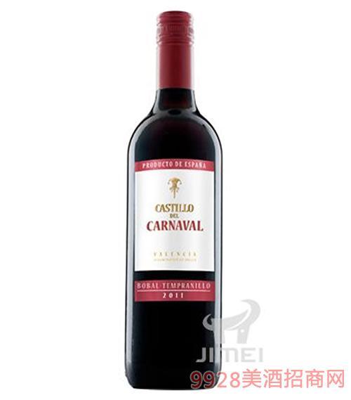 卡斯特洛2011干红葡萄酒