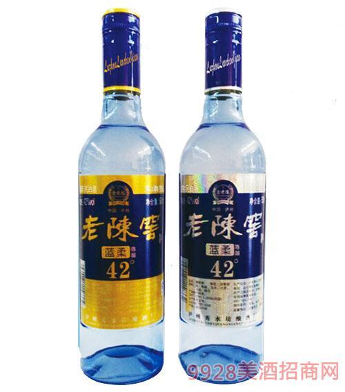 老陈窖蓝柔42°酒