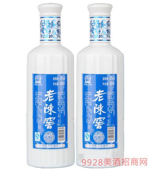 老陈窖陈酿9白瓷瓶酒