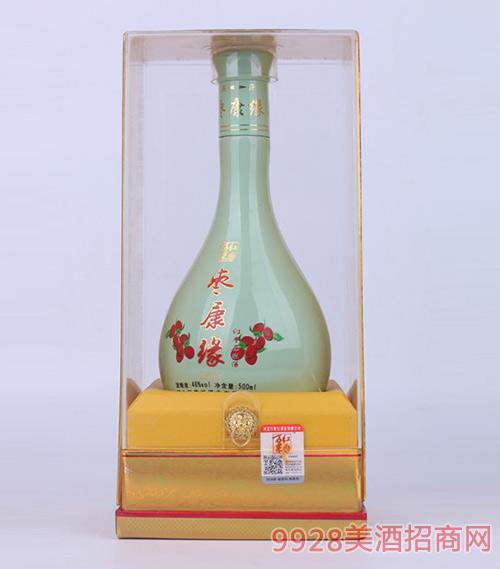 枣康缘酒青缘46度500ml