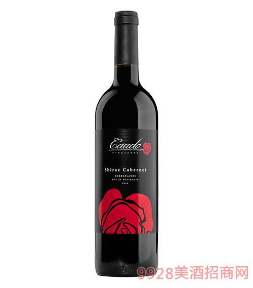 2015莫瑞河岸西拉子赤霞珠葡萄酒14.5度