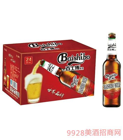 百士博臻享红瓶啤酒330mlx24