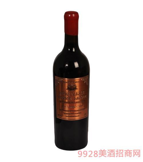 法国波尔多拉图宾森堡河谷红酒铜标