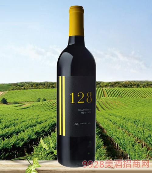 128梅里蒂奇干红葡萄酒