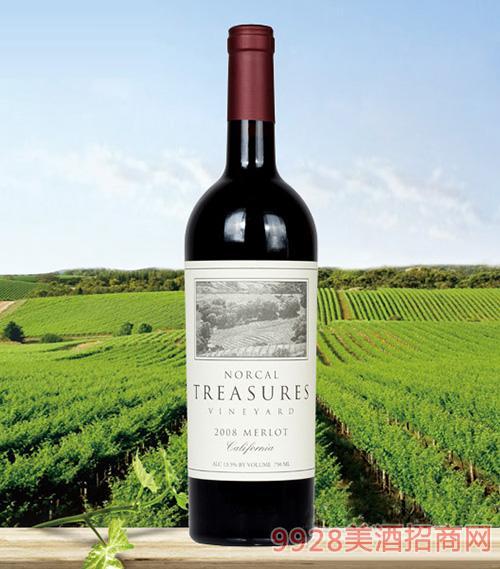 北加宝藏2008葡萄酒