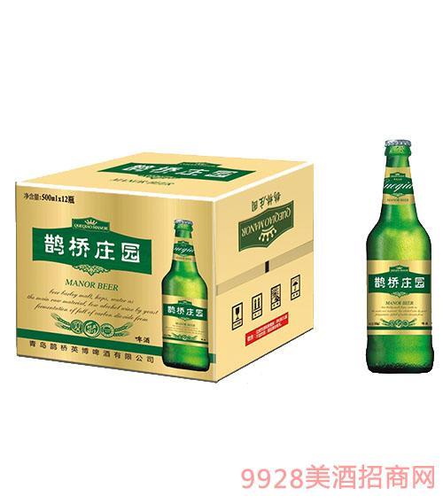 鹊桥庄园啤酒纸箱 500ml×12瓶