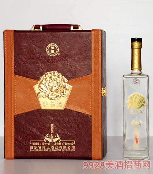 39度陈王府酒牡丹酒