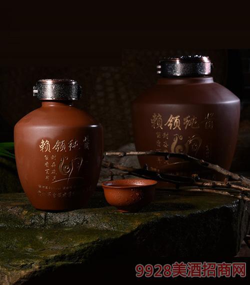 赖领纯酱紫砂坛酒4