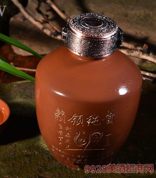 赖领纯酱紫砂坛酒1