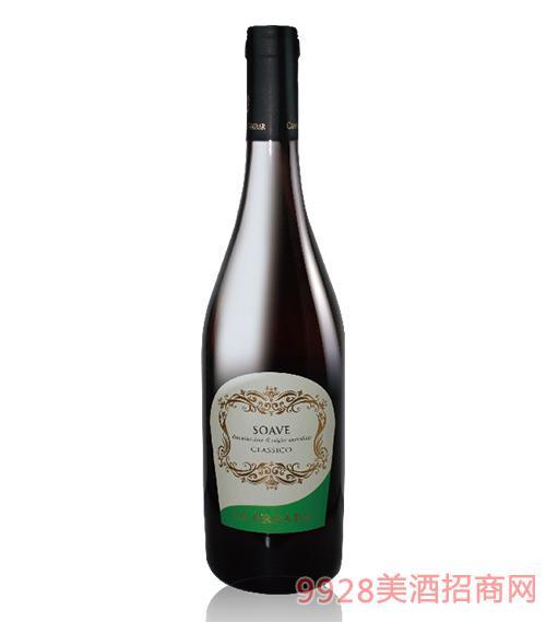 万宝利索阿维经典优质法定产区干白葡萄酒