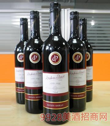 安德鲁平和庄园西拉子葡萄酒