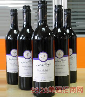 肯特斯庄园丹魄葡萄酒
