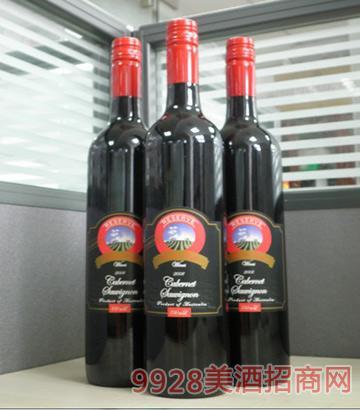 2008珍藏将 军山赤霞珠干红葡萄酒