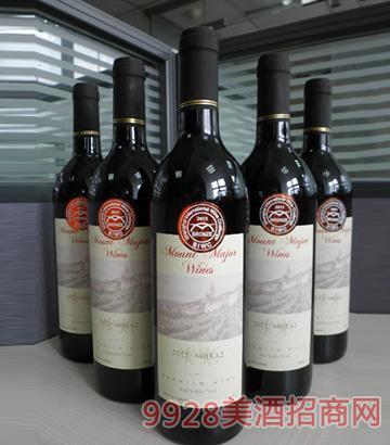 2012将 军山西拉干红葡萄酒