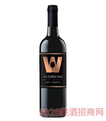 澳帝堡红葡萄酒(2011西拉子)