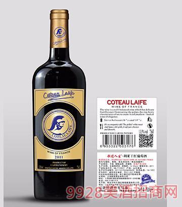 歌图人生 金牌 利莱干红葡萄酒(超重瓶)
