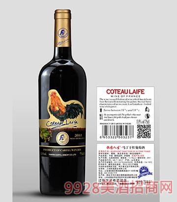 歌图人生 公鸡 马丁干红葡萄酒(超重瓶)