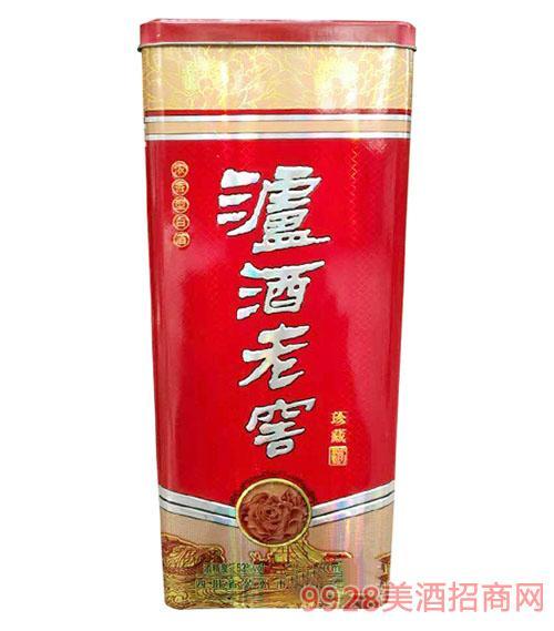 泸州泸酒老窖珍 藏酒52度500ml