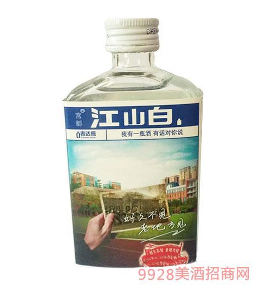 江山白酒瓶装