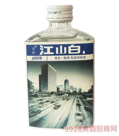 江山白酒表达瓶