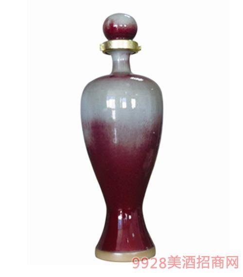国之魂酒60度淑女钧瓷瓶1.5L