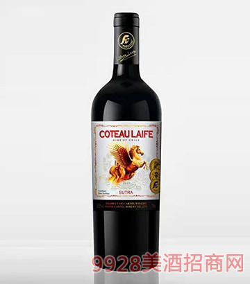 歌图人生 飞马 唐腾干红葡萄酒13.5度