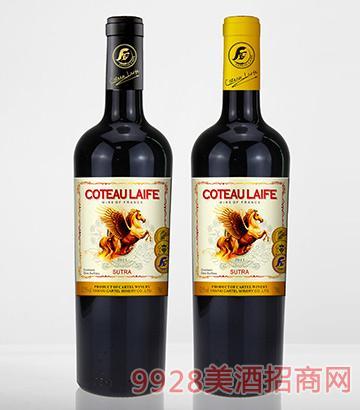 歌图人生 飞马 唐盛干红葡萄酒(超重瓶)13.5度