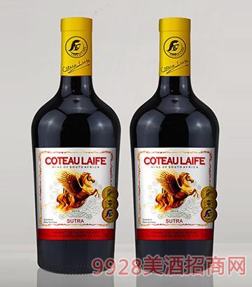 歌图人生 飞马 唐恩干红葡萄酒(开模瓶)13.5度