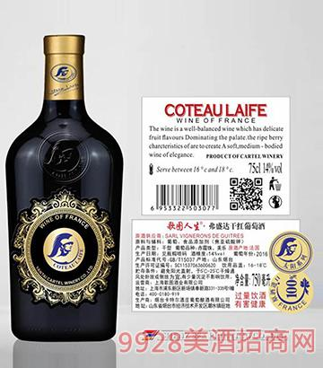 歌图人生 太阳 弗盛达(开模瓶)干红葡萄酒14度