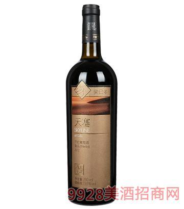 天塞蛇年生肖美乐干红葡萄酒