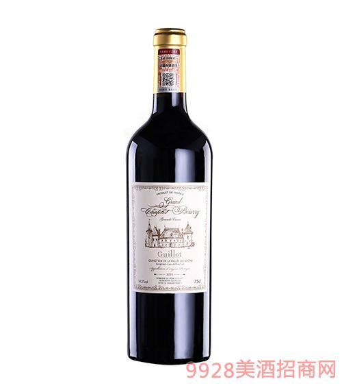法国吉洛大布利城堡红葡萄酒