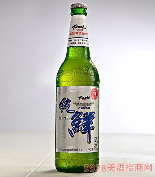 天湖纯鲜啤酒575ml