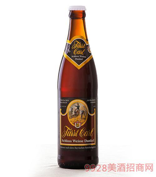 卡尔爵士啤酒·红城堡500ml