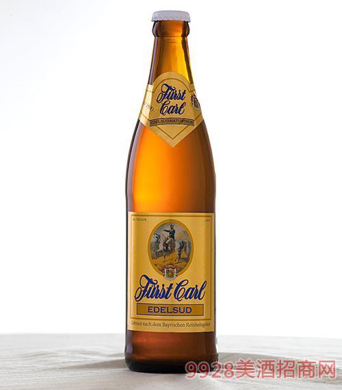 卡尔爵士啤酒·黄城堡500ml