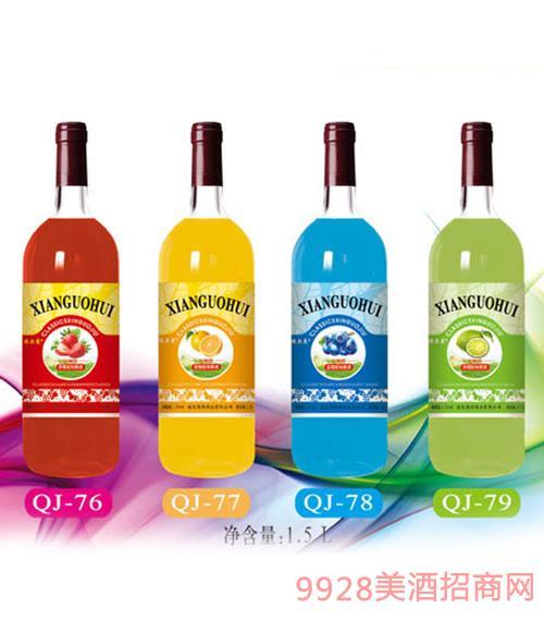 通化强劲鲜果酒1.5L
