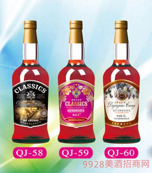 通化强劲classics葡萄酒1L