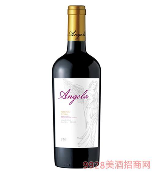 天使珍藏西拉干红葡萄酒