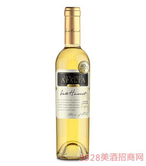 智利圣钻圣何塞阿帕塔晚收珍藏白葡萄酒