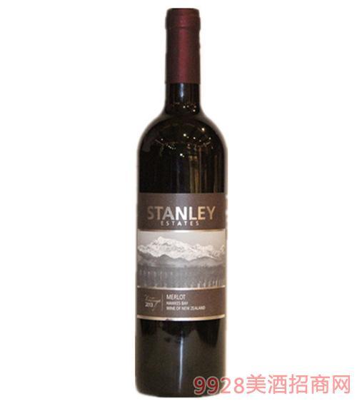 诗丹妮美乐红葡萄酒