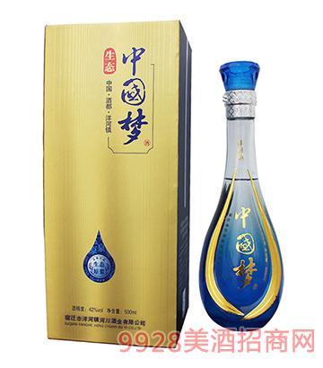 生态中国梦酒42度500ml