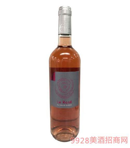 巴瑞庄园玫瑰红葡萄酒
