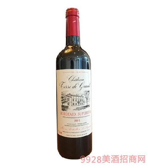特雷帝王波尔多干红葡萄酒