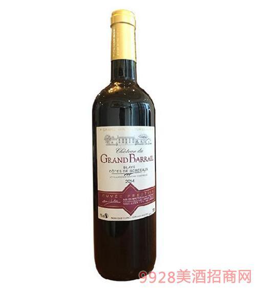 巴瑞庄园特酿干红葡萄酒