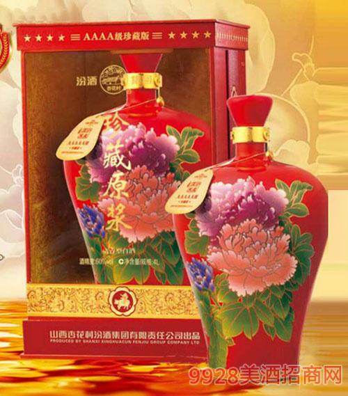 珍藏原浆酒(魅力牡丹)60度4L清香