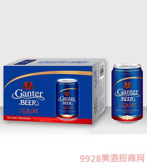 甘特尔啤酒330毫升