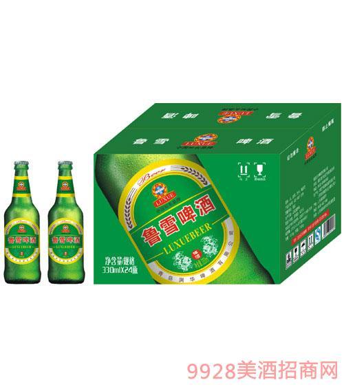鲁雪啤酒330ml