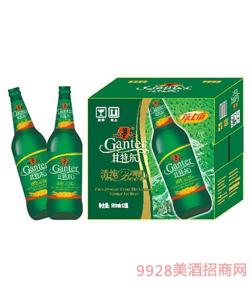 甘特尔清纯啤酒500ml