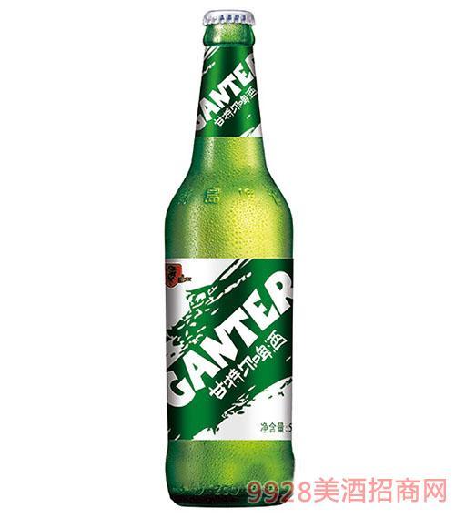 甘特尔啤酒500ml(绿瓶)