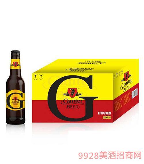 甘特尔啤酒330ml(金标)